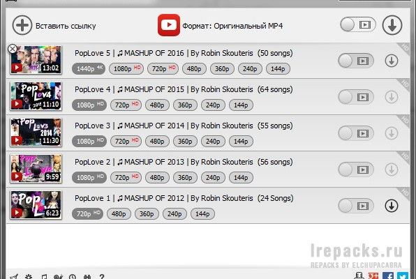 MediaHuman YouTube Downloader 3.9.9.55 (0205) (Repack & Portable)